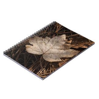 Autumn Leaf Notebook