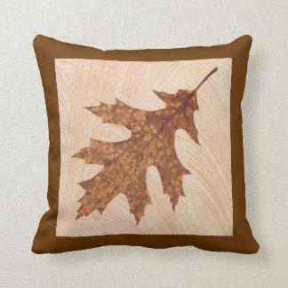 Autumn leaf pillows