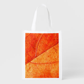 Autumn Leaf Reusable Bag