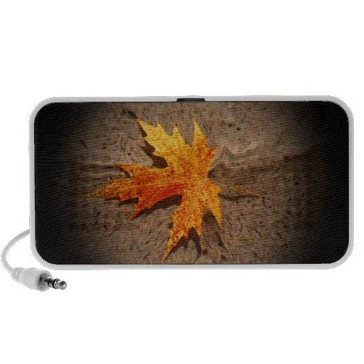 Autumn Leaf & Sand PC Speakers