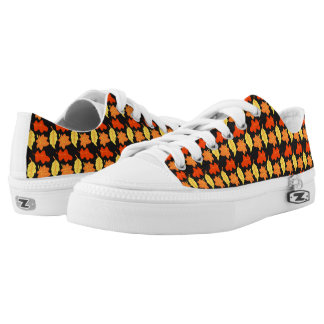 Autumn Leaf Shoes Printed Shoes