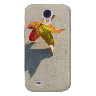 Autumn Leaf with Shadow Galaxy S4 Case