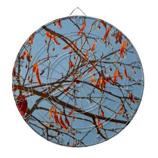 Autumn leafs dartboard