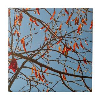 Autumn leafs tile