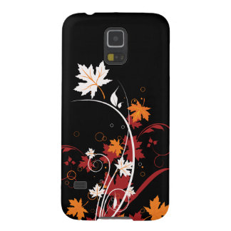 Autumn Leaves Abstract Galaxy S5 Cases