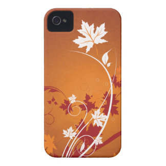 Autumn Leaves Abstract iPhone 4 Case