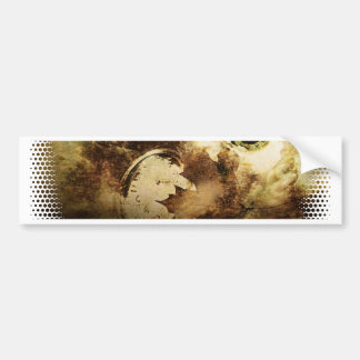 Autumn Leaves and Eye Bumper Sticker