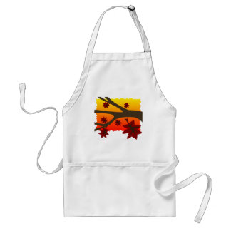 Autumn Leaves Aprons