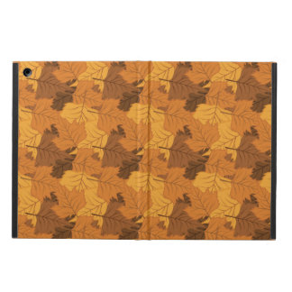 Autumn leaves background iPad air cases