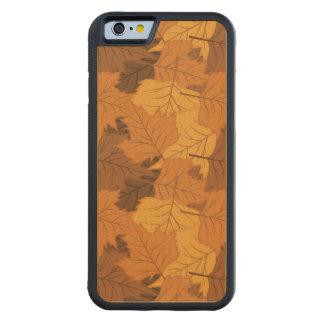 Autumn leaves background maple iPhone 6 bumper case