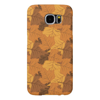 Autumn leaves background samsung galaxy s6 cases