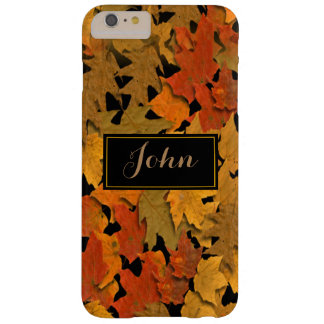 Autumn Leaves Barely There iPhone 6 Plus Case
