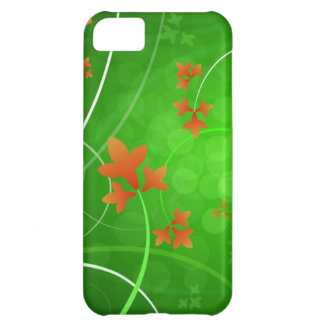Autumn Leaves Blowing In The Wind iPhone 5C Case