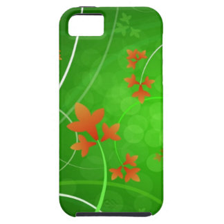 Autumn Leaves Blowing In The Wind iPhone 5 Cover