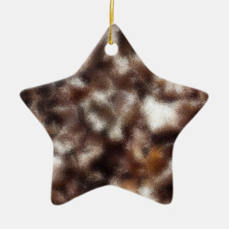 Autumn Leaves - Blurred Christmas Ornament