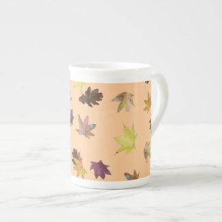 Autumn Leaves Bone China Mug