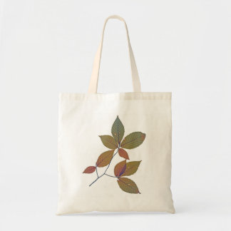 Autumn Leaves Budget Tote Bag