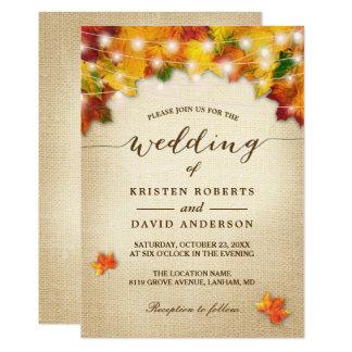 Autumn Wedding Invitations & Announcements | Zazzle.co.uk