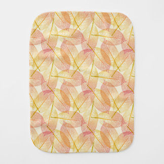 Autumn Leaves Burp Cloth