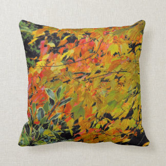 Autumn Leaves by Alexandra Cook Throw Cushions