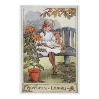 Autumn Leaves by Anne Anderson Poster