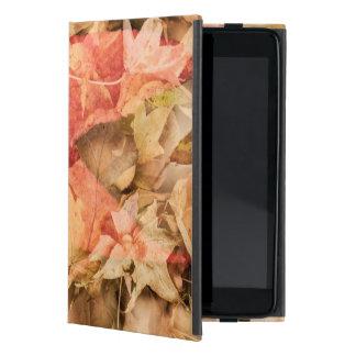 Autumn leaves case for iPad mini