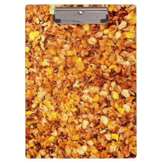 Autumn Leaves ClipBoard