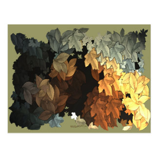 AUTUMN LEAVES Collection Post Card