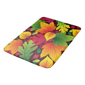 Autumn Leaves Colorful Multi Room Home Rug or Mat Bath Mats