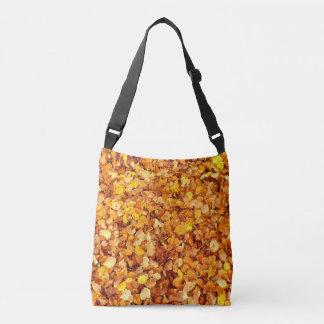Autumn Leaves Cross Body Bag