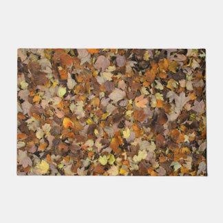 Autumn Leaves. Doormat