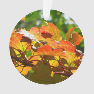 Autumn Leaves Double-Sided Ornament