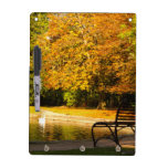 Autumn Leaves Dry Erase Whiteboard
