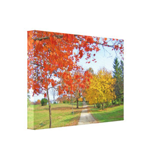 Autumn Leaves Fall Canvas Prints