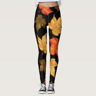 Autumn Leaves (Fall Season) Leggings