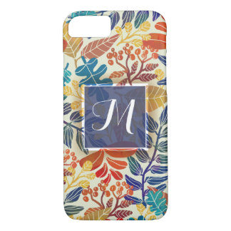 Autumn Leaves Fine Floral Background iPhone 8/7 Case