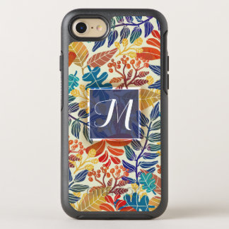 Autumn Leaves Fine Floral Background OtterBox Symmetry iPhone 8/7 Case