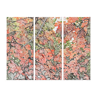 Autumn Leaves- Gallery Wrapped Canvas