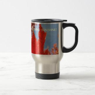 Autumn Leaves Good Morning Sunshine! Coffee Mugs