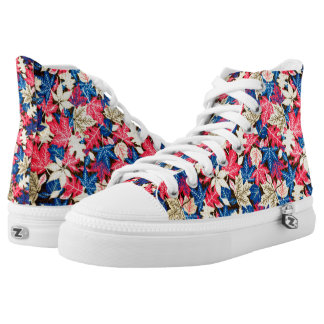 autumn leaves high tops