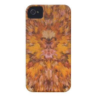 Autumn leaves in abstract iPhone 4 case