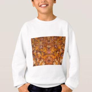 Autumn leaves in abstract sweatshirt
