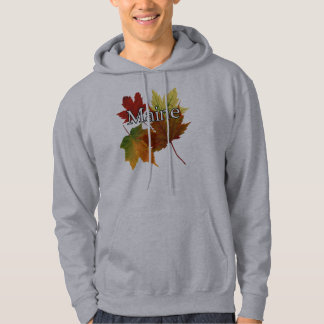 AUTUMN LEAVES IN MAINE HOODIE
