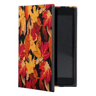 Autumn Leaves in Red Orange Yellow Brown Cases For iPad Mini