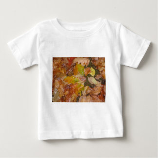 Autumn leaves in the rain baby T-Shirt