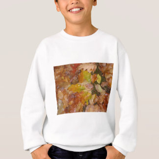 Autumn leaves in the rain sweatshirt