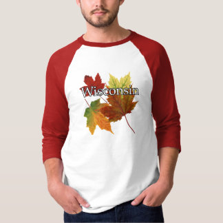 AUTUMN LEAVES IN WISCONSIN T-Shirt