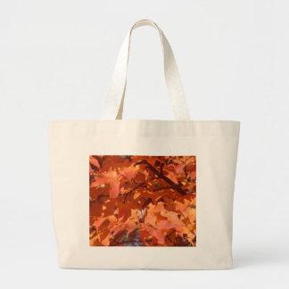 Autumn Leaves Jumbo Tote Bag