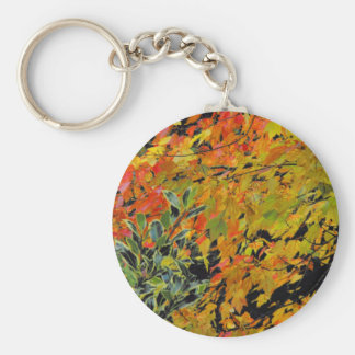 Autumn Leaves Key Ring