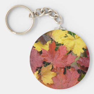 Autumn Leaves Key Ring